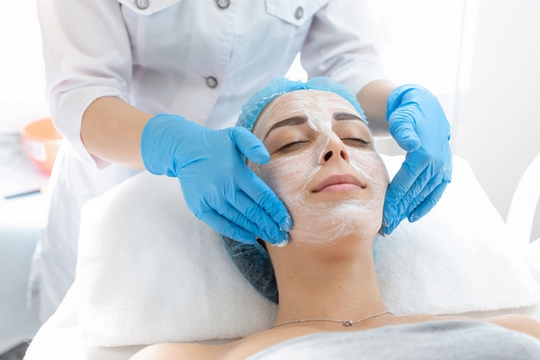Improving your blood flow is a benefit of getting a facial.
