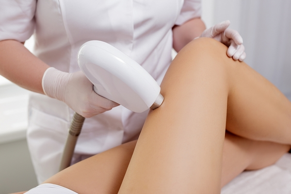 Laser hair removal has effective results.