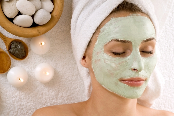 Reduced stress is a benefit of getting a facial.