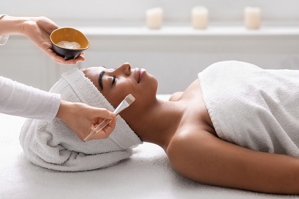 Skin absorption is a benefit of getting a facial.