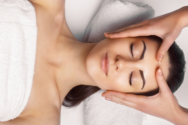 Skin tightening is a benefit of getting a facial.