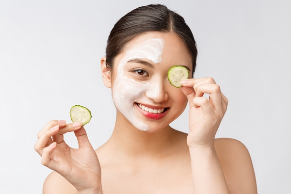 Under eye skin care is a benefit of getting a facial.