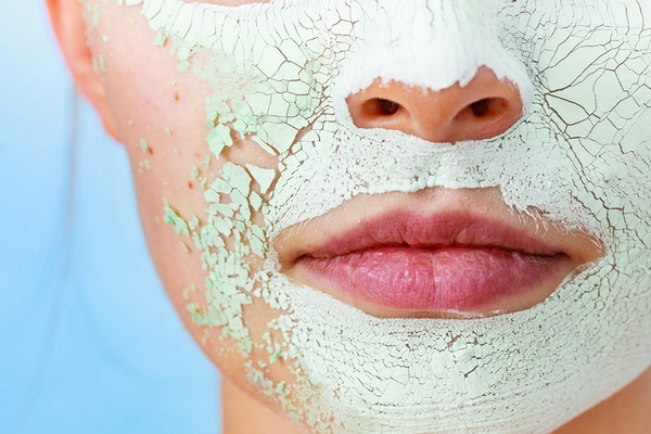Flakiness may be a sign of over exfoliated skin.