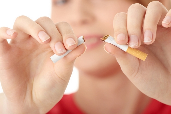 Not smoking is a good remedy to remove deep forehead wrinkles.