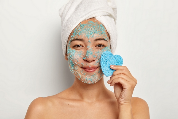Benefit #2: Exfoliating improves blood circulation for your skin.