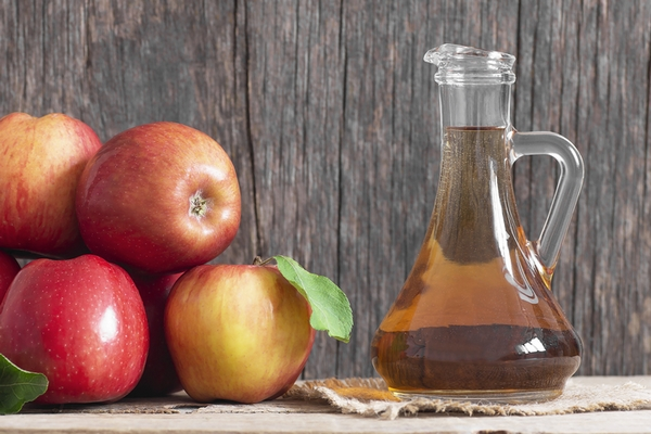 Apply apple cider vinegar for clear skin.