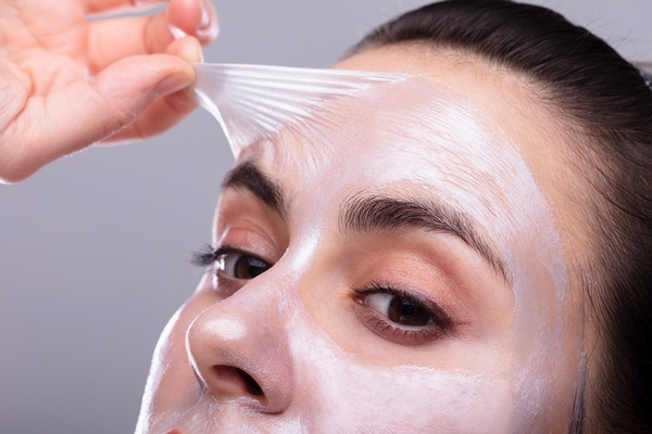 Use a chemical peel to improve skin texture.