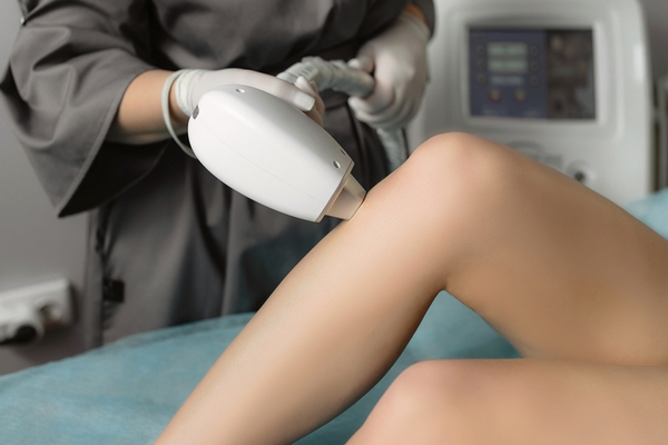 Use laser hair removal to improve skin texture.
