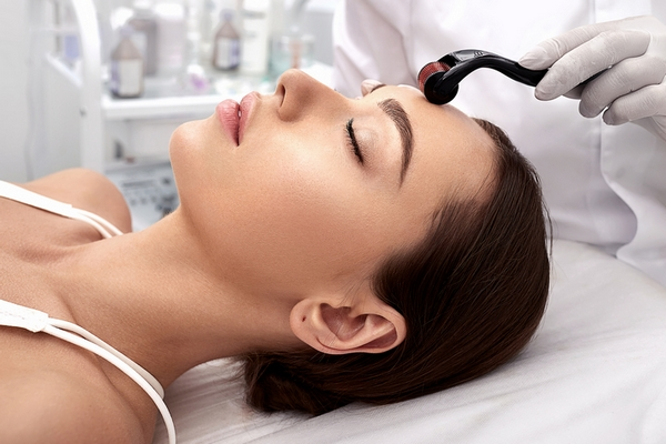 Use microneedling to improve skin texture.