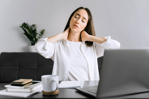 Pay attention to proper neck posture