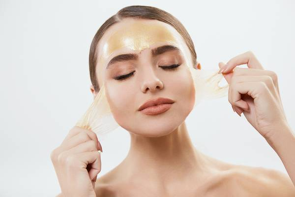 A chemical peel can fix sun damage on face.