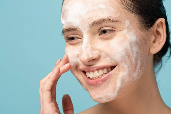 Cleanse your face every morning